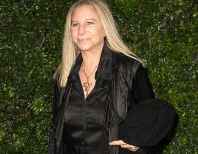 """Barbra Streisand ostro o Donaldzie Trumpie. """"Stanowi niebezpieczeństwo..."""