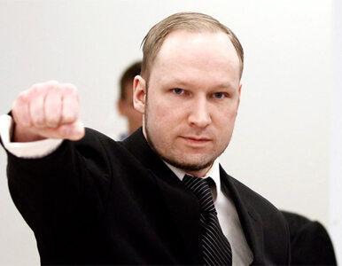 Morderca Breivik grozi kolejnymi zamachami
