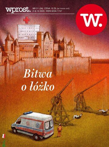 Okładka tygodnika Wprost nr 36/2020 (1952)