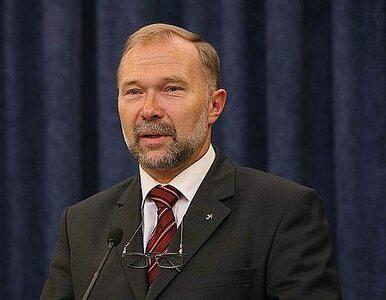 Michałowski: prezydent zadowolony z tablicy