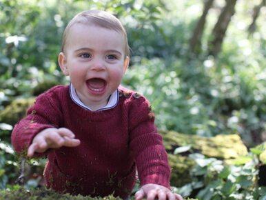 Książę Louis obchodzi dziś pierwsze urodziny! Pałac Kensington pokazał...