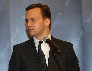 Sikorski do Kaczyńskiego: niech pan wygarnie jak mężczyzna