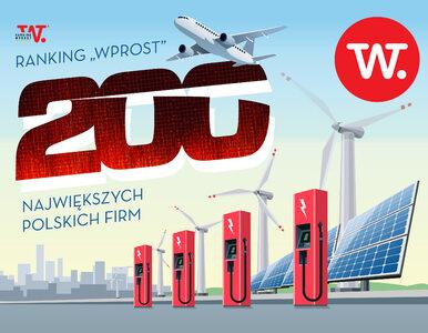 """Ranking """"Wprost"""": 200 największych polskich firm"""
