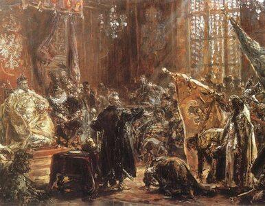 """""""Hołd Szujskich"""". Gdy rosyjski car przysięgał posłuszeństwo polskiemu..."""