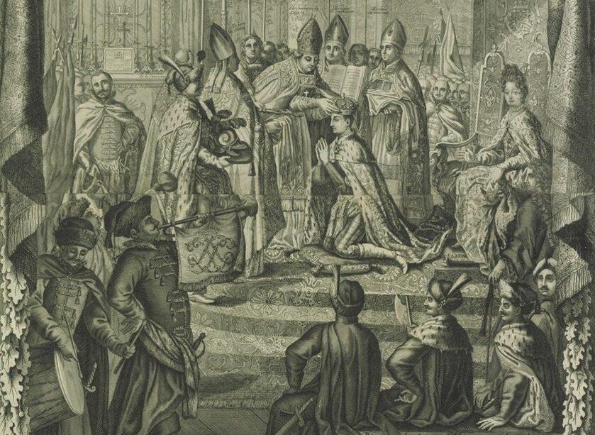 Koronacja Stanisława Leszczyńskiego na króla Polski