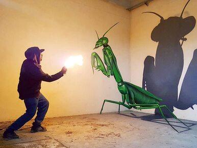 Ten artysta tworzy graffiti w 3D. Jest rozchwytywany dzięki szczególnej...