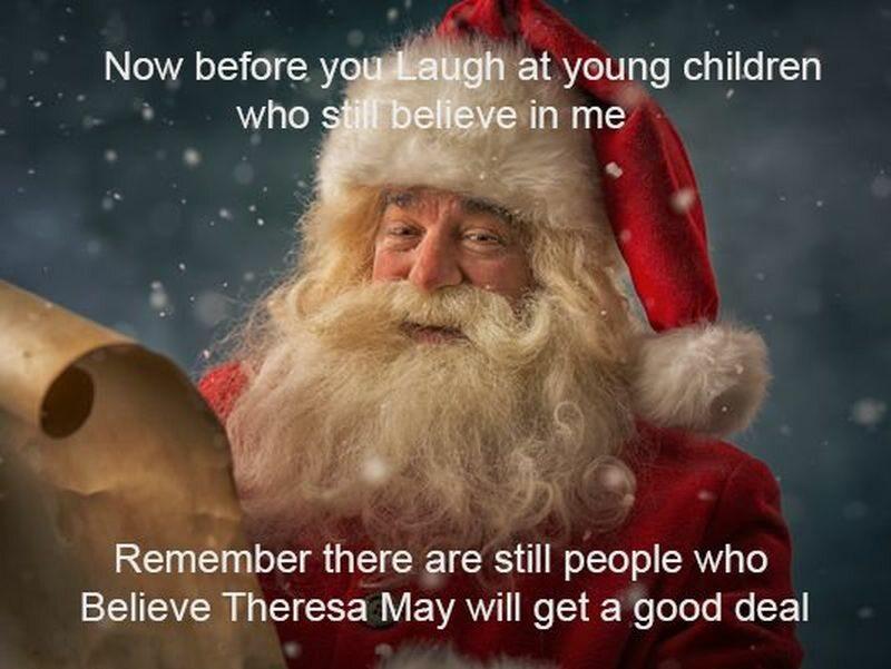Śmiejecie się z dzieci które we mnie wierzą. Są ludzie, którzy wierzą w udane negocjacje Theresy May