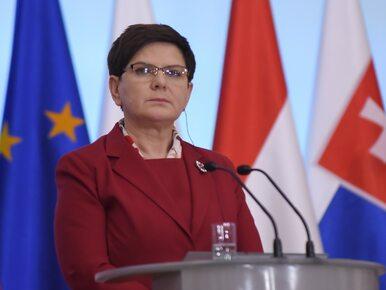 """Szydło pisze do unijnych przywódców ws. Tuska. """"Wielokrotnie przekroczył..."""
