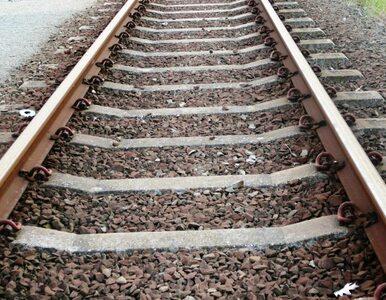 Nastolatkowie chcieli wykoleić pociąg