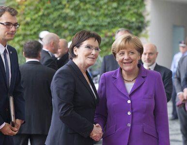 Kopacz spotkała się z Merkel