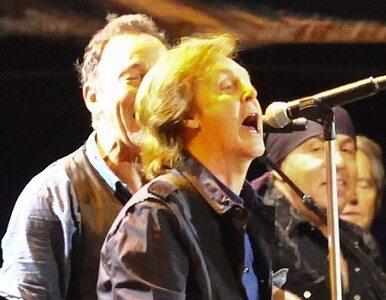 Springsteenowi i McCartneyowi wyłączono mikrofony. Za długo śpiewali