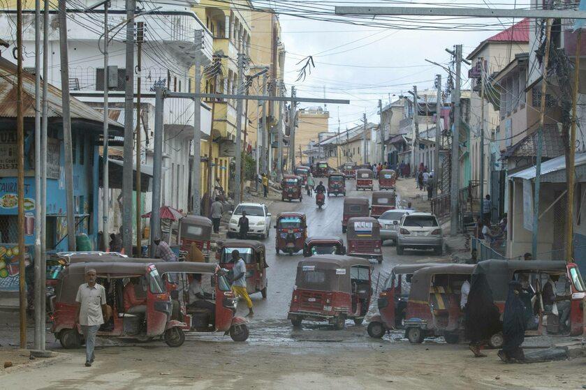 Mogadiszu, stolica Somalii