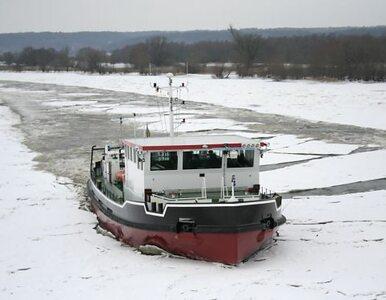 Lodołamacze płyną do Płocka. Powstrzymają powódź?