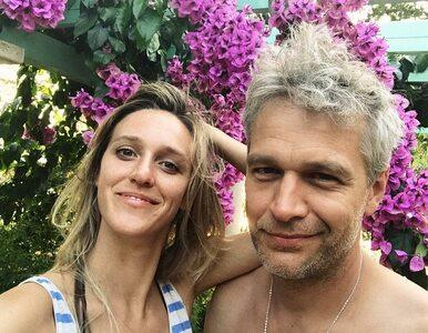 Michał Żebrowski świętuje z żoną walentynki. Zażartował też z wpisu...