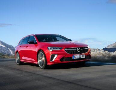 """Nowy Opel Insignia. Debiutuje """"sportowiec"""" GSi"""