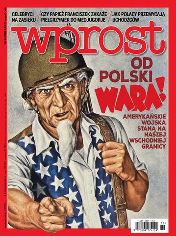 Okładka tygodnika Wprost nr 14/2016 (1731)