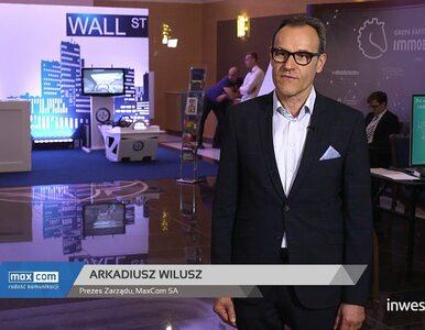 Konferencja WallStreet 21: Arkadiusz Wilusz - Prezes Zarządu, MaxCom SA,...