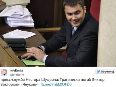 Syn Janukowycza pochowany na Krymie?