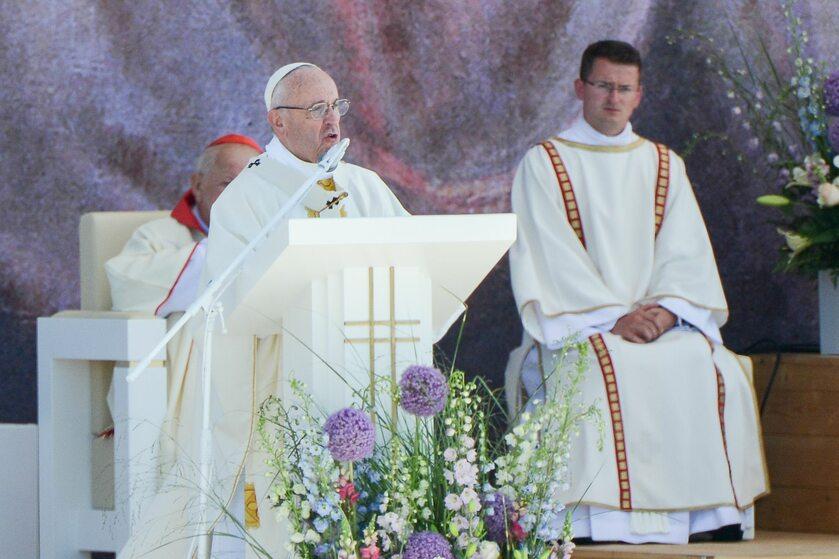 Papież Franciszek w Brzegach