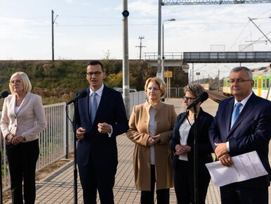 """Premier Morawiecki przedstawił program Kolej Plus. """"W pierwszym okresie..."""