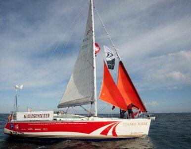Polski żeglarz ukończył samotny rejs wokół globu