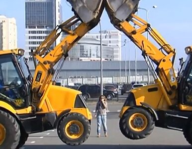 W Kijowie tańczą... traktory