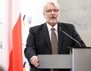 Waszczykowski o polityce Polski wobec UE: Musimy przestać być altruistą