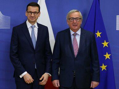 Juncker: Unia Europejska nie jest w stanie wojny z Polską