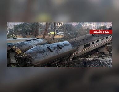 Zderzenie pociągów w Egipcie. Co najmniej 10 ofiar śmiertelnych
