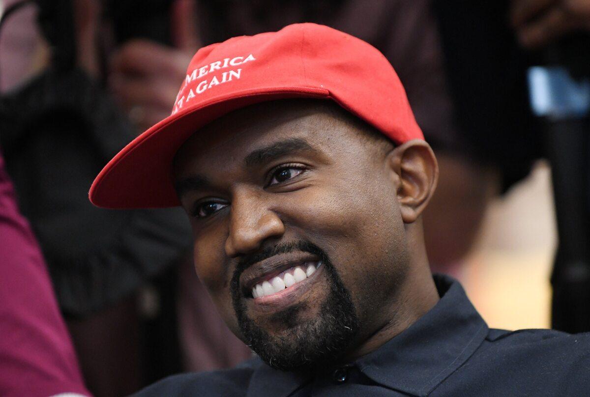 Kanye West w Białym Domu w 2018 roku