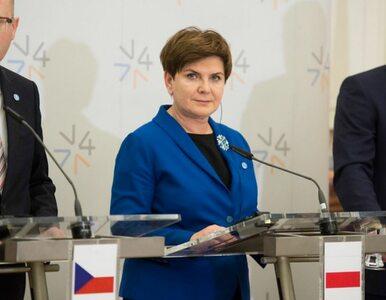 Premier po spotkaniu Grupy Wyszehradzkiej. Wcześniej rozmawiała z Orbanem