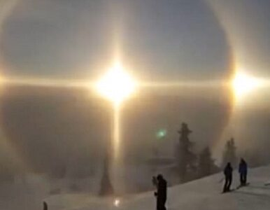 """Kilka zjawisk optycznych pojawiło się na niebie w tej samej chwili. """"To..."""