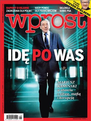 Okładka tygodnika Wprost nr 48/2015 (1713)