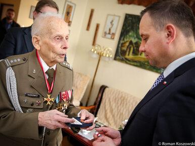 Prezydent Andrzej Duda odznaczył pułkownika Tadeusza Bieńkowicza