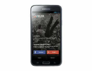 Sześć miesięcy darmowej muzyki  na GALAXY S5 dzięki Samsung i Deezer