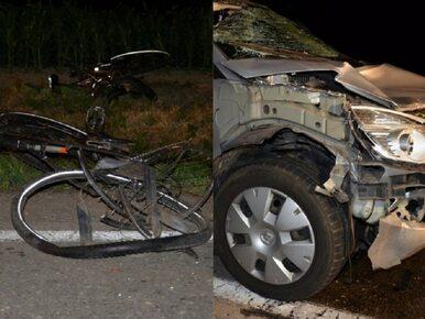 Śląskie. Samochód wjechał w grupę rowerzystów. Zginęły dwie osoby