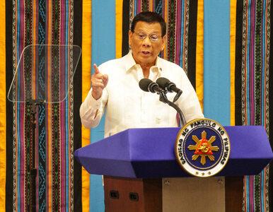 Koronawirus. Prezydent Filipin dopuszcza możliwość strzelania do osób...
