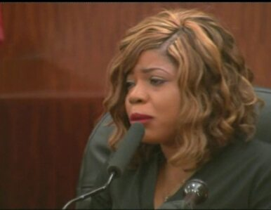 W sądzie twarzą w twarz z zabójcą męża. Poruszające słowa wdowy