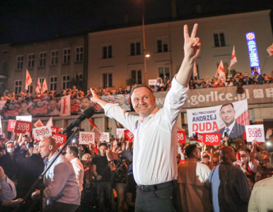 Andrzej Duda na wieczorze wyborczym: Cieszę się z mojego zwycięstwa