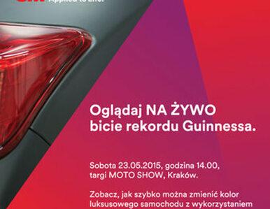 Czy Polakom uda się pobić rekord Guinnessa w zmianie koloru auta?