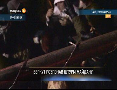 Ochrona Majdanu schwytała funkcjonariusza Berkutu po szturmie milicji