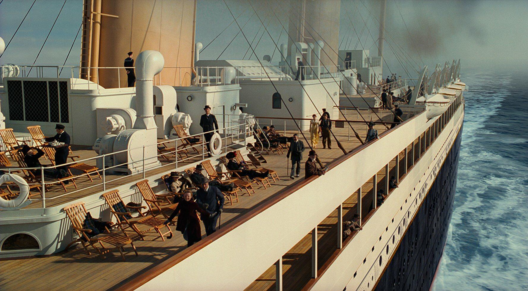 Jaką trasę miał przebyć Titanic?
