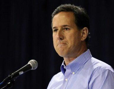 USA: Santorum zawiesza kampanię. Już nie chce być prezydentem