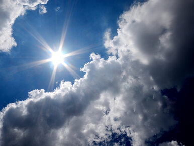 W środę słonecznie i ciepło. Zmiana pogody od piątku