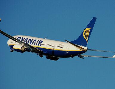 Incydent na pokładzie Ryanaira. Samolot musiał awaryjnie lądować z...