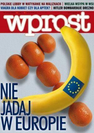 Okładka tygodnika Wprost nr 7/2005 (1159)