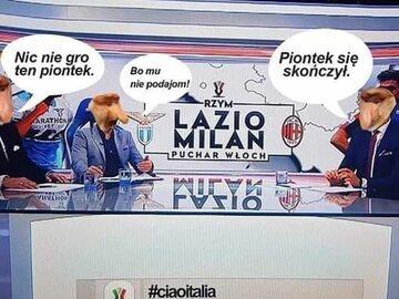 MEMY po meczu, w którym Krzysztof Piątek nie strzelił gola