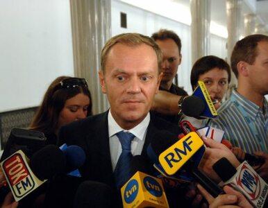 Tusk: jesteśmy gotowi do korekty VAT o 1 pkt proc.