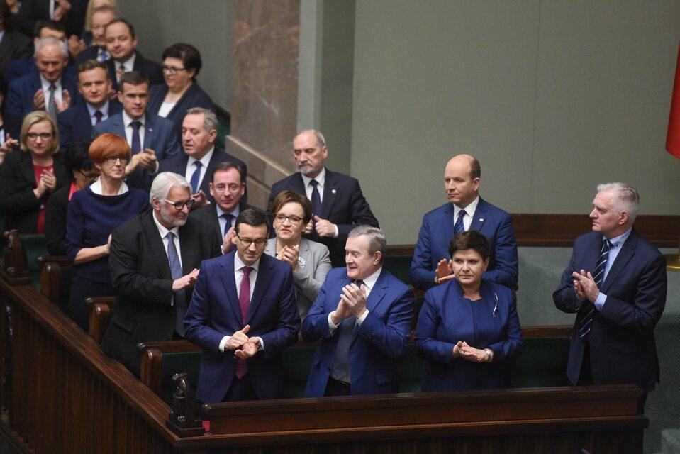 Ławy PiS w Sejmie, Mateusz Morawiecki