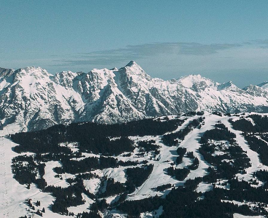 Krajobraz Alp